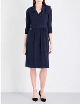 Burberry Agatha silk-crepe de chine dress