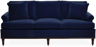 Michael Thomas Collection Garbo Sofa - Navy Velvet