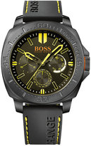 BOSS ORANGE Men's Sao Paulo Black Silicone Strap Watch 46mm 1513243
