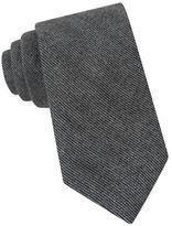 Michael Kors Peter Striped Silk Blend Tie