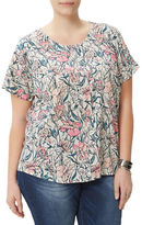 Junarose Misty Floral Relaxed Blouse