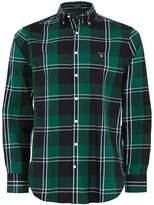 Gant Twill Check Tech Shirt