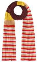 Marni Striped virgin wool scarf