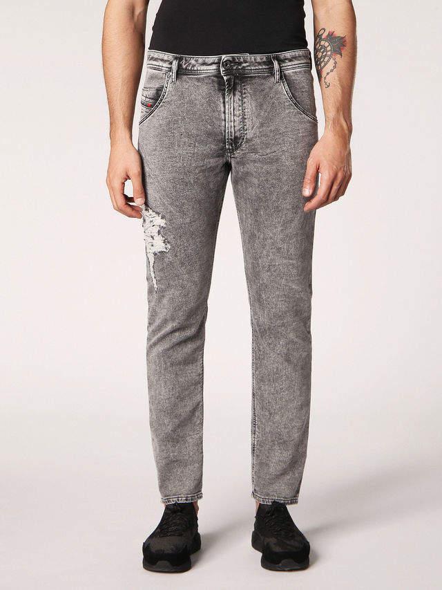 Diesel KROOLEY-T Jeans 0689D - Grey - 26