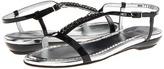 Stuart Weitzman Cadena (Nero Patina) - Footwear