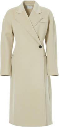 LVIR Asymmetric Wool Coat