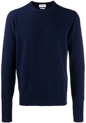 Ballantyne Crew-Neck Cashmere Sweater