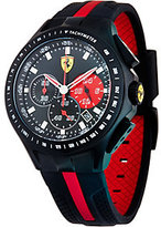 Ferrari men's Black Silicone Strap Race Day Watch