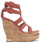 Paloma Barceló Suede Wedge Sandals
