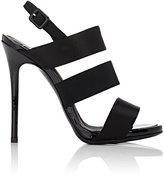 Giuseppe Zanotti Women's Alien Satin Sandals-BLACK