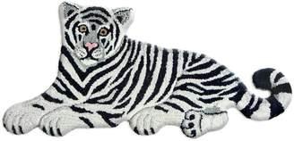 Tiger Wool Rug For Lvr