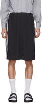 Random Identities Black Sport Sweat Loose-Fit Skirt