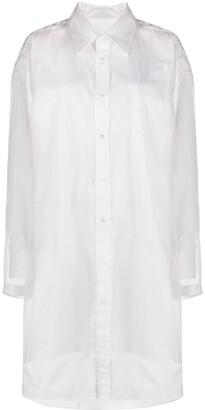 Maison Margiela Panelled Shirt Dress