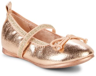 Kenneth Cole Reaction Baby Girl's, Little Girl's & Girl's Copy Tap 2 Embellished Flats