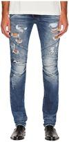 Pierre Balmain Distressed Biker Jeans Men's Jeans
