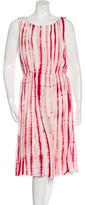 Oscar de la Renta Silk Tie Dye Dress w/ Tags