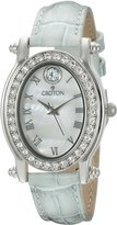 Croton Watches CROTON Women's CN207537LBMP Balliamo March Birthstone Analog Display Quartz Blue Watch