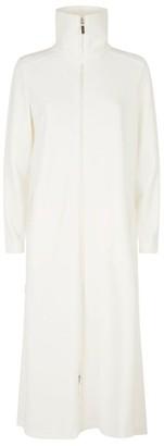 Louis Feraud Velvet Zipped Robe