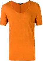 Unconditional loose scoop neck T-shirt - men - Rayon - S
