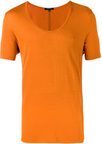 Unconditional loose scoop neck T-shirt