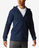 adidas Men's Essentials Cotton Fleece Full-Zip Hoodie