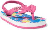 Ralph Lauren Hailey Floral Flip-Flop