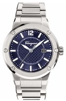 Salvatore Ferragamo Men's 'F-80' Bracelet Watch, 44Mm