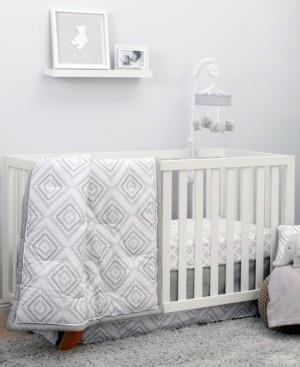 NoJo Geo Diamond 8-Piece Crib Bedding Set Bedding