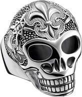 Thomas Sabo Rebel at heart sterling silver skull ring