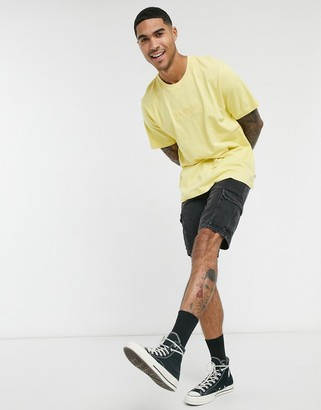 Levi's Tonal Reflection relaxed fit t-shirt in yellow