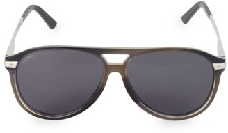 Cartier 60MM Aviator Sunglasses