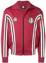 Represent panelled sports zip fleece
