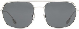 Burberry Eyewear Aviator Frame Sunglasses