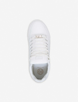 Kurt Geiger Malone reptile-embossed trainers