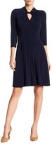 Maggy London MJ Twist Neck Dress