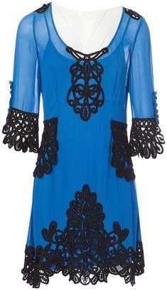 Temperley London Blue Silk Dresses