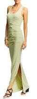 Nicole Miller Vanessa Striped Maxi Dress