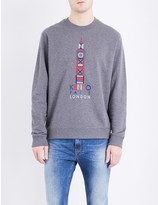Kenzo London-Paris cotton-jersey sweatshirt