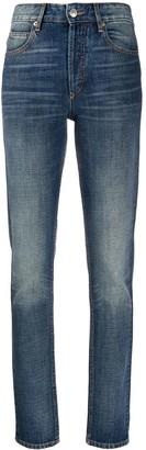 Etoile Isabel Marant Slim Faded Jeans