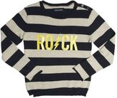 Zadig & Voltaire Striped Rock Printed Cotton Sweatshirt