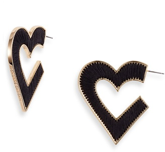 Mignonne Gavigan Fiona Heart Earrings