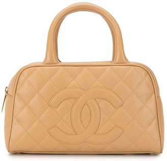 Chanel Pre Owned 2004 mini Boston tote