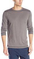 Puma Men's Long-Sleeve Crew-Neck Shirt