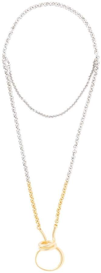 Charlotte Chesnais Round Trip necklace