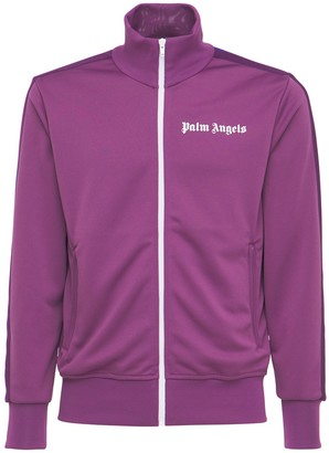 Palm Angels College Tech Jersey Track Jacket