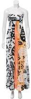 Diane von Furstenberg Krystle Printed Maxi Dress