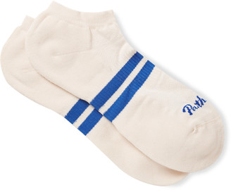 Pantherella Sprint Cushioned Stretch Cotton-Blend No-Show Socks