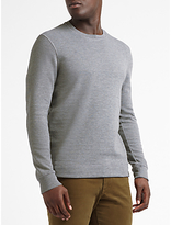Scotch & Soda Classic Crew Neck Jumper, Grey Melange