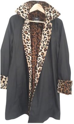 Dennis Basso Black Coat for Women Vintage