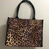 Neiman Marcus Beauty Even Step -up Tote Bag CLEOPARD by N/A